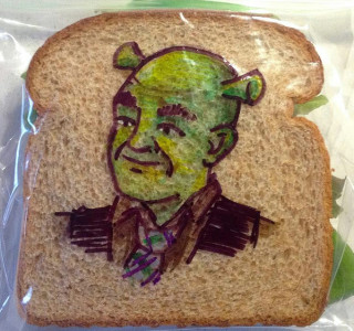 Shrek Sandwich